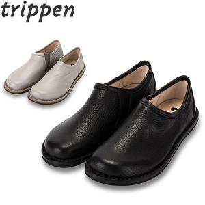 トリッペン Trippen レザー スリッポン シューズ WON 鹿革 ELK レディース 靴 レザーシューズ|glv