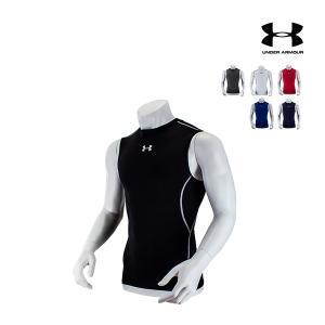 メンズ 男性 アンダーアーマー スポーツウェア 袖なし 機能シャツ インナーウェア 消臭 速乾 紫外...