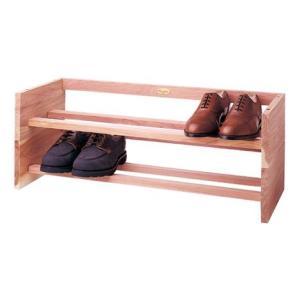 ウッドロア・シダーシューラック(Lサイズ)【取り寄せ】   Woodlore Aromatic Cedar Shoe Rack (Size L) gmrooters