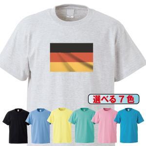 Tシャツ/国旗/ドイツ/7色/0016a|gmsfactory