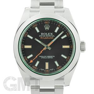 ロレックス ミルガウス 116400GV ブラック ROLEX 新品 メンズ  腕時計  送料無料  年中無休|gmt
