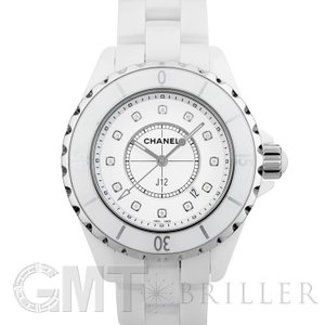シャネル H1628 J12 レディース セラミック クォーツ(ホワイト)NEWダイヤル CHANEL 新品レディース 腕時計 送料無料 年中無休|gmt