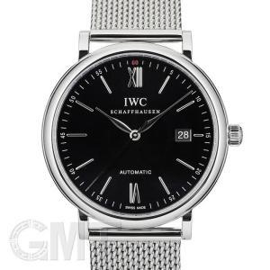 IWC ポートフィノ ブラック IW356506 IWC 新品 メンズ  腕時計  送料無料  年中無休|gmt