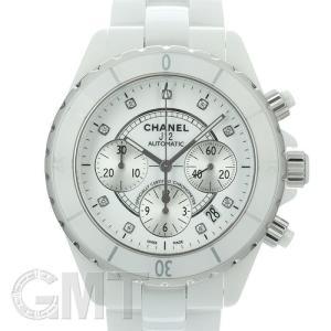 シャネル H2009 J12 クロノグラフ メンズ 自動巻き セラミック(ホワイト) CHANEL 新品メンズ 腕時計 送料無料 年中無休|gmt