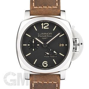 パネライ ルミノール1950 3DAYS GMT 42mm アッチャイオ PAM00537 OFFICINE PANERAI LUMINOR|gmt