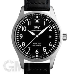 IWC パイロットウォッチ マークXVIII IW327001 ブラック レザー IWC 新品 メンズ  腕時計  送料無料  年中無休|gmt