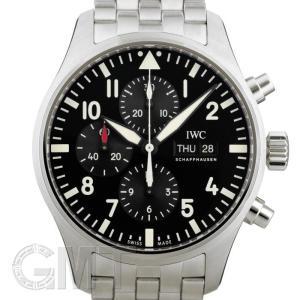 IWC パイロットウォッチ クロノグラフ ブラック IW377710 IWC 新品 メンズ  腕時計  送料無料  年中無休|gmt