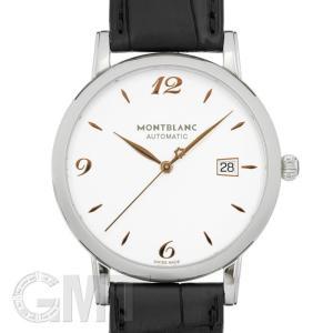 モンブラン スター クラシック 39mm シルバー 110717 MONTBLANC 新品 メンズ  腕時計  送料無料  年中無休 gmt