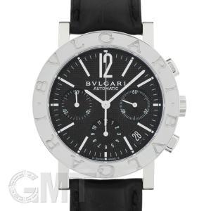 ブルガリ ブルガリ・ブルガリ クロノグラフ ブラック BB38BSLDCH BVLGARI 新品メンズ 腕時計 送料無料 年中無休|gmt