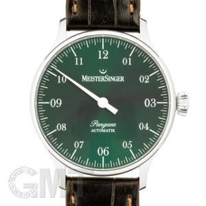 マイスタージンガー パンゲア PM909 グリーン 正規輸入商品  新品メンズ 腕時計 送料無料 年中無休|gmt