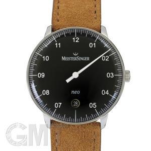 マイスタージンガー ネオ 36mm ブラック NE902N正規輸入商品新品腕時計 送料無料 年中無休|gmt