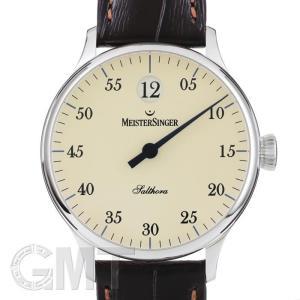 マイスタージンガー サルトラ ジャンピングアワー アイボリー SH903 正規輸入商品  新品メンズ 腕時計 送料無料 年中無休|gmt