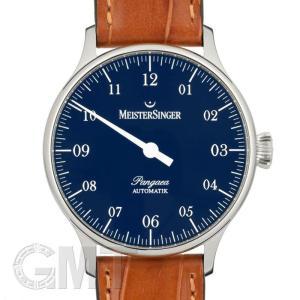 マイスタージンガー パンゲア PM908 ブルー 正規輸入商品  新品メンズ 腕時計 送料無料 年中無休|gmt