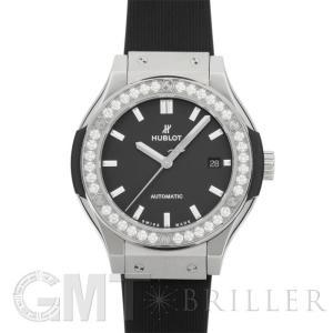 ウブロ クラシックフュージョン チタニウム ダイヤ ラバー 582.NX.1170.RX.1204 HUBLOT 新品 レディース  腕時計  送料無料  年中無休|gmt