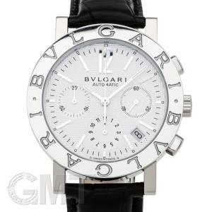 ブルガリ ブルガリブルガリ クロノグラフ ホワイト BB38WSLDCH BVLGARI 新品メンズ 腕時計 送料無料 年中無休|gmt