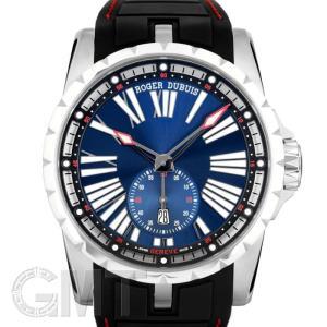 【2017年新作】ロジェ・デュブイ エクスカリバー 45 オートマティック  ブルー 45mm チタン ラバー RDDBEX0602 ROGER DUBUIS 【新品】【メンズ】 【腕時計】