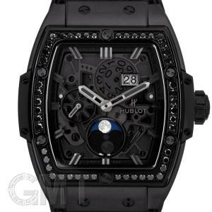 ウブロ スピリット オブ ビッグ・バン ムーンフェイズ オールブラック ダイヤモンド 647.CI.1110.LR.1200 HUBLOT 新品 メンズ  腕時計  送料無料|gmt