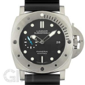 パネライ ルミノール サブマーシブル 1950 3デイズ オートマティック チタニオ PAM01305 シースルーバック OFFICINE PANERAI 新品 メンズ  腕時計|gmt