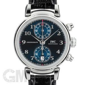 IWC ダ・ヴィンチ クロノグラフ ローレウス スポーツ フォー グッド ブルー IW393402 1,500本限定生産 IWC 新品メンズ 腕時計|gmt