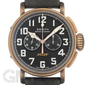 ゼニス パイロット タイプ タイプ20 クロノグラフ エクストラスペシャル 29.2430.4069/21.C800 ブロンズ ZENITH 新品メンズ 腕時計|gmt