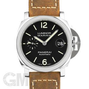 パネライ ルミノールマリーナ オートマティック アッチャイオ 40MM PAM01048  OFFICINE PANERAI 新品 メンズ  腕時計  送料無料|gmt