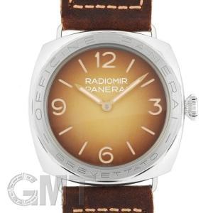 スペシャルエディションパネライ ラジオミール 3days アッチャイオ ブラウン 47mm PAM00687※ OFFICINE PANERAI 新品メンズ 腕時計|gmt
