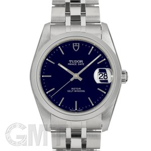 チュードル プリンス デイト ブルー 34mm 74000 TUDOR 新品 メンズ  腕時計  送料無料  年中無休|gmt