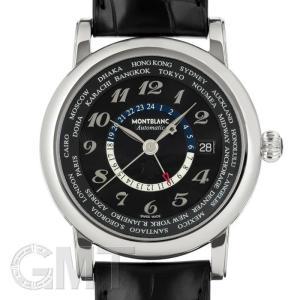 モンブラン スター ワールドタイム GMT ブラック 109285 MONTBLANC 新品 メンズ  腕時計  送料無料  年中無休 gmt