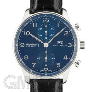 IWC ポルトギーゼ クロノグラフ IW371491  ブルー IWC 新品 メンズ  腕時計  送料無料  年中無休|gmt