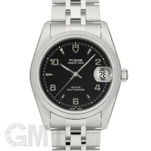 チュードル プリンス デイト ブラック アラビア 34mm 74000 TUDOR 新品 メンズ  腕時計  送料無料  年中無休|gmt
