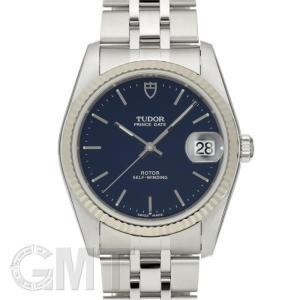 チュードル プリンスデイト 74034 ブルー TUDOR 新品 メンズ  腕時計  送料無料  年中無休|gmt