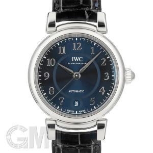 IWC ダ・ヴィンチ オートマティック 36 IW458312 ブルー IWC 新品 ユニセックス  腕時計  送料無料  年中無休|gmt