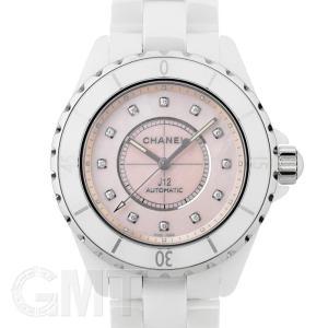シャネル J12 コレクター ピンクシェル 12Pダイヤ 38mm H5514世界1200本限定 CHANEL 新品メンズ 腕時計 送料無料 年中無休|gmt