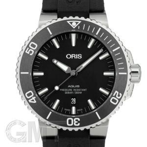 オリス アクイス デイト ブラック 733 7730 4124 R ORIS 新品 メンズ  腕時計  送料無料  年中無休|gmt