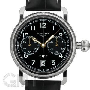 ロンジン ヘリテージアビゲーション オーバーサイズ クラウン L2.783.4.53.2 LONGINES 新品 メンズ  腕時計  送料無料  年中無休|gmt