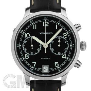 ロンジン ヘリテージ ミリタリー 1938 クロノグラフ L2.790.4.53.3 LONGINES 新品 メンズ  腕時計  送料無料  年中無休|gmt