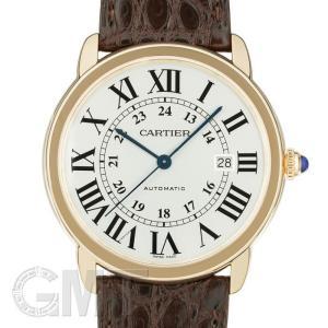 カルティエ ロンドソロ XL W6701009 CARTIER 新品 メンズ  腕時計  送料無料  年中無休 gmt