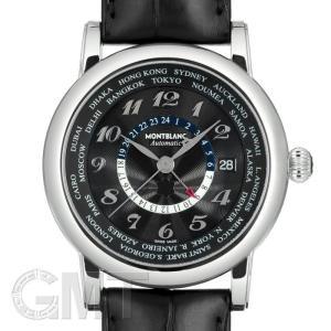 モンブラン スター ワールドタイム ブラック 106464 MONTBLANC 新品 メンズ  腕時計  送料無料  年中無休|gmt