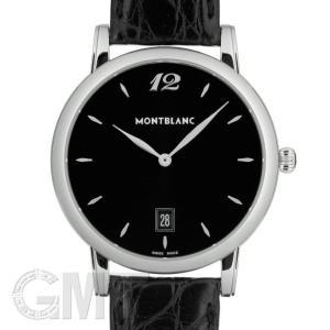 モンブラン スター クラシック デイト ブラック 108769 MONTBLANC 新品 メンズ  腕時計  送料無料  年中無休 gmt