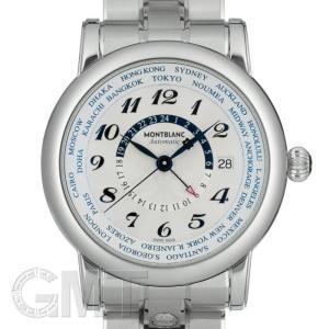 モンブラン スター ワールドタイム GMT シルバー 109286 MONTBLANC 新品 メンズ  腕時計  送料無料  年中無休 gmt
