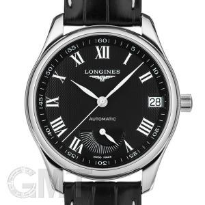 ロンジン マスター コレクション ブラック 42mm L2.666.4.51.7 LONGINES 新品メンズ 腕時計 送料無料 年中無休|gmt