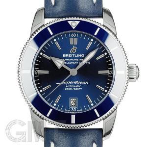 ブライトリング スーパーオーシャン ヘリテージ II 42 A201C60KBA ブルー レザー BREITLING 新品 メンズ  腕時計  送料無料  年中無休|gmt