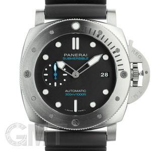 パネライ ルミノール サブマーシブル 1950 3デイズ オートマティック チタニオ 裏蓋チタン PAM01305 OFFICINE PANERAI 新品メンズ 腕時計 gmt