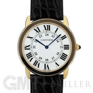 カルティエ ロンド ソロ ドゥ カルティエ 36mm W6700455 CARTIER 新品 レディース  腕時計  送料無料  年中無休 gmt