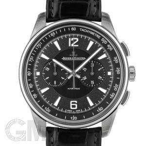 2018年新作ジャガールクルト ポラリス クロノグラフ Q9028470 ブラック JAEGER LECOULTRE 新品メンズ 腕時計 送料無料 年中無休|gmt