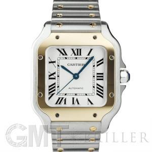 2018年新作カルティエ サントス・ドゥ・カルティエ MM W2SA0007 CARTIER 新品ユニセックス 腕時計 送料無料 年中無休|gmt