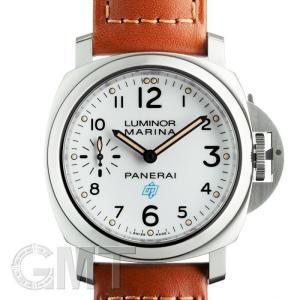 2018年新作パネライ ルミノールマリーナ ロゴ 3days アッチャイオ 44mm ホワイト PAM00778 OFFICINE PANERAI 新品メンズ 腕時計 送料無料 gmt