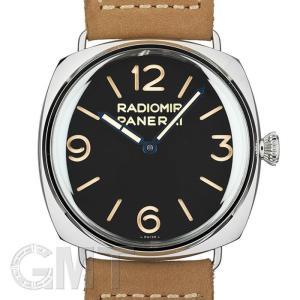 オフィチーネ パネライ ラジオミール 3days アッチャイオ ブラック 47mm PAM00720世界500本限定 OFFICINE PANERAI 新品メンズ 腕時計|gmt