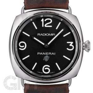 オフィチーネ パネライ ラジオミール ベース3daysアッチャイオ ブラック PAM00753 OFFICINE PANERAI 新品 メンズ  腕時計  送料無料 gmt