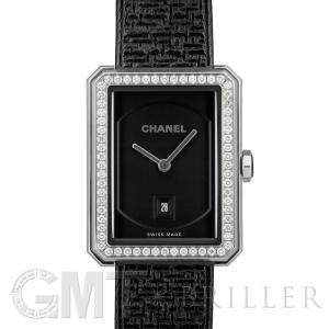 シャネル ボーイフレンド ツイード ブラックコーティング H5318 ベゼルダイヤ CHANEL 新品 レディース  腕時計  送料無料  年中無休|gmt